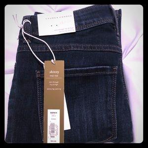 LC Lauren Conrad Skinny Mid Rise Jeans NWT 🌸